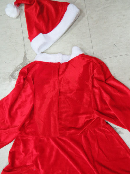 聖誕節老公公聖誕服裝聖誕帽.聖誕襪聖誕靴-聖誕女孩裙服裝-大
