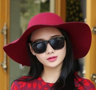 [協貿國際]  女士秋冬禮帽圓頂帽 (1入)