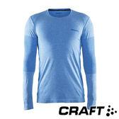 瑞典CRAFT 男 Cool全天候長袖排汗衣『藍』1905472 排汗衣│慢跑衣│吸濕排汗│乾爽透氣