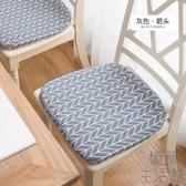 坐墊餐桌椅墊子辦公坐墊榻榻米家用板凳防滑軟墊【極簡生活】