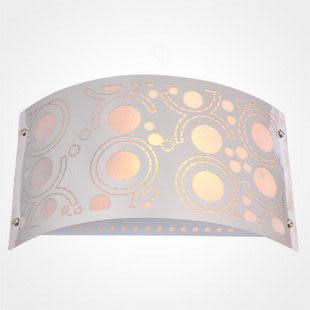 歐式現代不鏽鋼雕花壁燈具