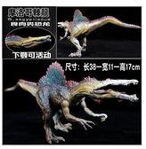 【雙十二】狂歡侏羅紀大號仿真塑膠靜態動物食肉恐龍玩具模型摩洛哥埃及棘龍霸王 易貨居