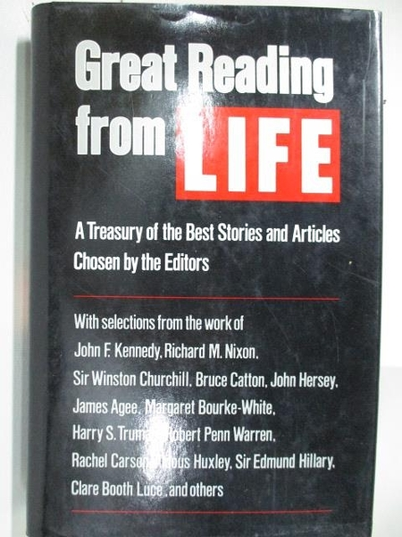 【書寶二手書T4/原文書_DIM】Great Reading From Life