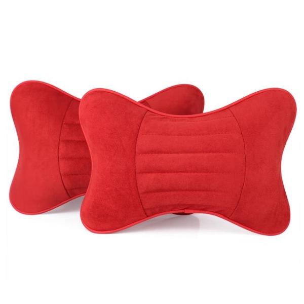 汽車頭枕靠枕墊護頸枕一對車用抱枕