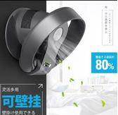 優美萊無葉風扇靜音家用落地足球款空氣凈化遙控搖頭電風扇現貨110V台灣專用WD 溫暖享家