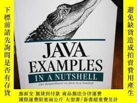 二手書博民逛書店Java罕見Examples in a Nutshell. De
