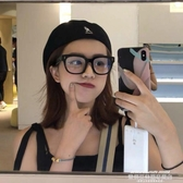 秒殺眼鏡框2020新款gm黑框眼鏡女小紅書粗框眼鏡韓版方形圓臉素顏新年交換禮物