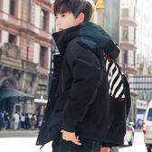 羽絨服外套棉衣男士2018新款工裝加厚羽絨棉服韓版潮流ins超火棉襖冬季外套