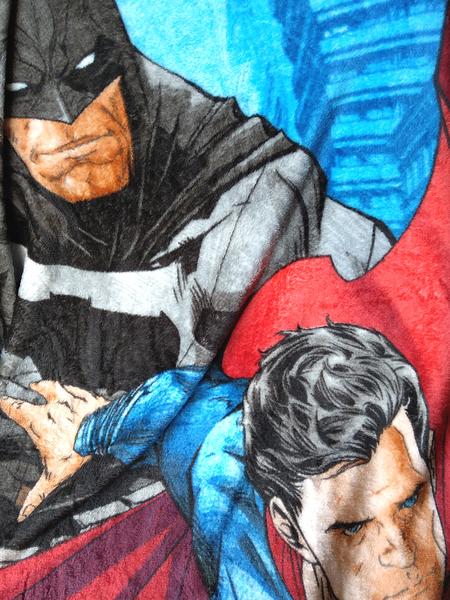 【卡漫城】 超人 蝙蝠俠 毛毯 毯子batman superman 男童 涼被 薄毯 冷氣毯 披風 保暖 英雄 DC漫畫