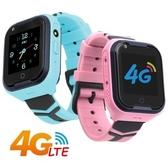 IS愛思 CW-18 4G定位視訊關懷炫彩兒童智慧手錶藍色