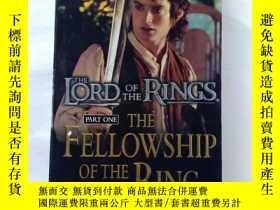 二手書博民逛書店THE罕見LORD OF THE RINGS PART ONE THE FELL WSHIP OF THE RIN