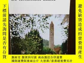 二手書博民逛書店Testament罕見Cache (法文原版)Y12800 Sebastian Barry Gallimard