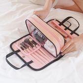 化妝包手提洗漱包便攜多功能收納袋隨身少女心化妝包