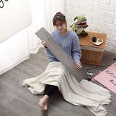 PVC地板革貼紙自黏家用簡約臥室歐式店鋪宿舍地面翻新仿木紋地磚  igo K-shoes