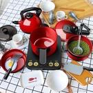兒童過家家廚房玩具套裝小女孩做飯炒菜煮飯鍋娃娃家男 『洛小仙女鞋』