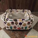 布藝衣物收納箱收納盒束口兒童玩具收納筐防水整理箱【小獅子】
