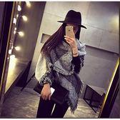 📢現貨供應📢秋冬新款格子圍巾加厚保暖圍脖超長女士斜角圍巾披肩兩用百搭