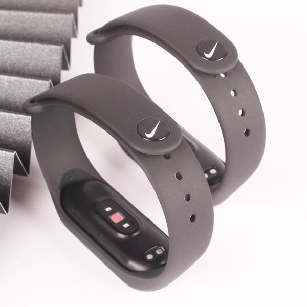 小米手環3/4/5腕帶nfc版表帶通用可愛卡通科比透氣款個性潮 宜品