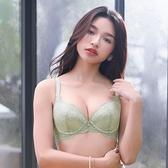 【華歌爾】Good Fit 記形-蕾絲款 C罩杯內衣(柔透綠)