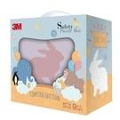 3M 安全地墊禮盒小兔-丁香紫(32X32X2cm 9片裝)[衛立兒生活館]