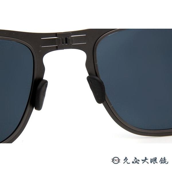 ROAV 偏光太陽眼鏡 Franklin (消光鐵灰) 水銀 折疊 薄鋼墨鏡 Mod8001 久必大眼鏡