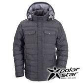 PolarStar 中性 羽絨外套 『黑藍』P15213
