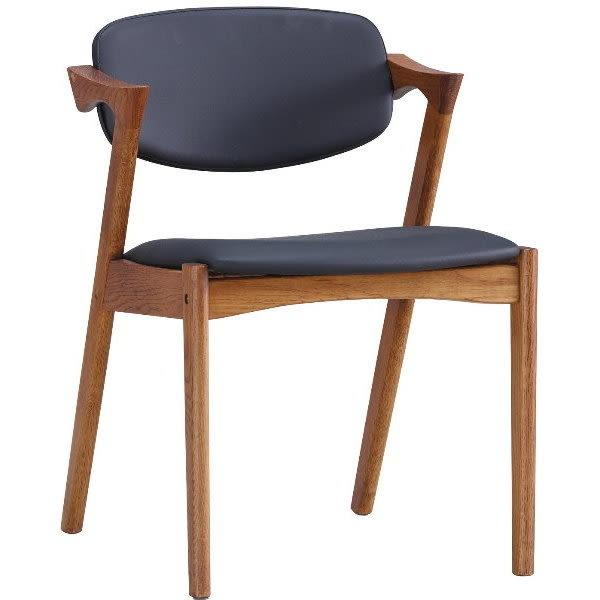 餐椅 AM-245-10 Z型實木餐椅【大眾家居舘】