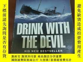 二手書博民逛書店Drink罕見with the Devil 與魔鬼共飲 傑克·希金斯英文原版驚險小說Y372109 出版