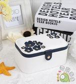 櫻花首飾盒首飾收納盒簡約飾品盒戒指盒耳環收納盒公主化妝