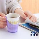 杯架加厚一次性紙杯子杯托加硬塑料茶托隔熱托水杯杯座【古怪舍】