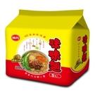 味丹味味麵精燉肉燥湯麵 78Gx5入【愛買】