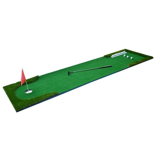 TYGJ新品 室內高爾夫果嶺 推桿練習器 迷你人造草皮練習毯套裝 「免運」