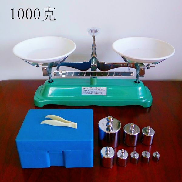 托盤天平 架盤天平 砝碼天平 天平儀器100g 200g 500g 1000g/0.1g