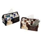 煙火跨年桌上型面紙盒/衛生紙盒/拼布包包