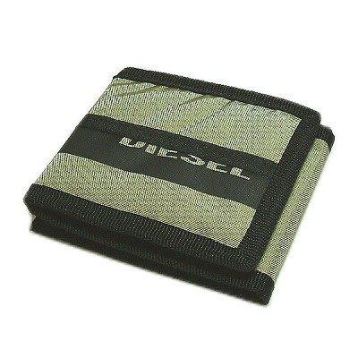 DIESEL 原廠3折皮夾(軍綠色) DBL0729SKH