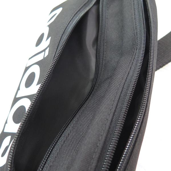 ADIDAS LINEAR BUM BAG 腰包 單肩包 側背包 GN1937 黑【iSport愛運動】