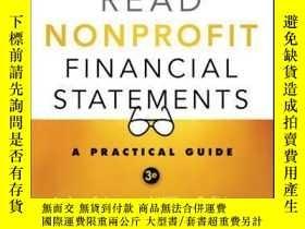 二手書博民逛書店How罕見to Read Nonprofit Financial Statements: A Practical