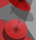 雙層24骨雨傘男三人超大號加固長柄自動傘創意雙人防風直桿傘大碼CY叢林之家