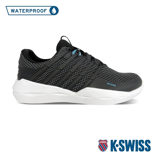K-SWISS Functional WP防水運動鞋-中性-黑針織