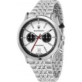 【MASERATI TIME】瑪莎拉蒂/ACTIVE POLO三眼石英計時腕錶 R8873638004