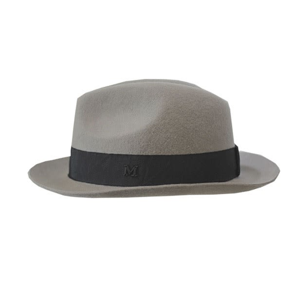 OT SHOP帽子‧M字素色緞帶純羊毛呢氈‧毛呢帽紳士帽禮帽爵士帽‧韓版氣質時尚英倫風‧現貨‧C1708