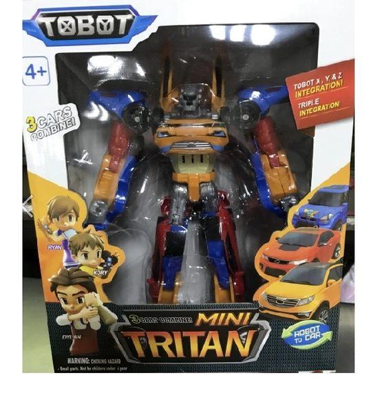 Tobot機器戰士\中型XYZ合體機器戰神 TITAN (三合一款)