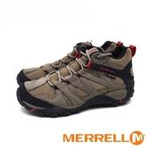 MERRELL (男) ALVERSTONE MID GORE-TEX高筒防水健走登山鞋 - 卡其灰