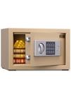 保險箱 得力16654保管箱電子密碼隱藏式入墻防盜保險柜家用小型迷 晶彩 99免運