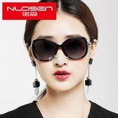 太陽鏡女潮偏光墨鏡女士圓臉款防紫外線眼鏡長臉 俏腳丫