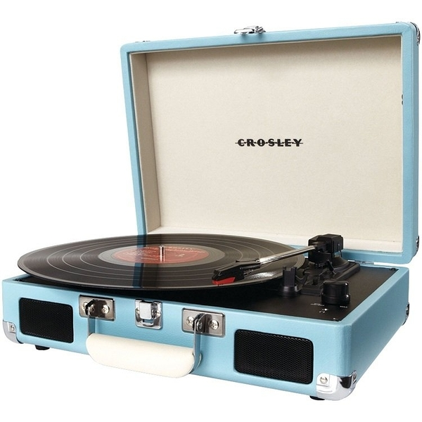 ::bonJOIE 現貨+預購:: Crosley Cruiser Portable Turntable 手提箱黑膠播放器 (八種顏色可選) 可攜 攜帶式 唱盤
