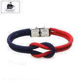 情侶編織同心結紅繩手鏈男士人簡約個性手繩女韓版手飾禮物