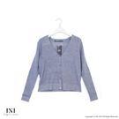 【INI】細膩魅力、基本百搭素色針織外套...