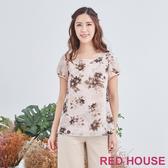 【RED HOUSE 蕾赫斯】花朵上衣(共2色)