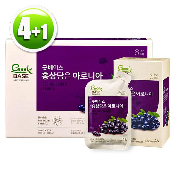 【買4送1】正官庄 高麗蔘野櫻莓飲(30入/盒)x4
